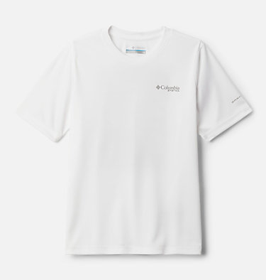 Boys' PFG True Pursuit™ T-shirt True Pursuit™ SS Tee   010   M, White, back