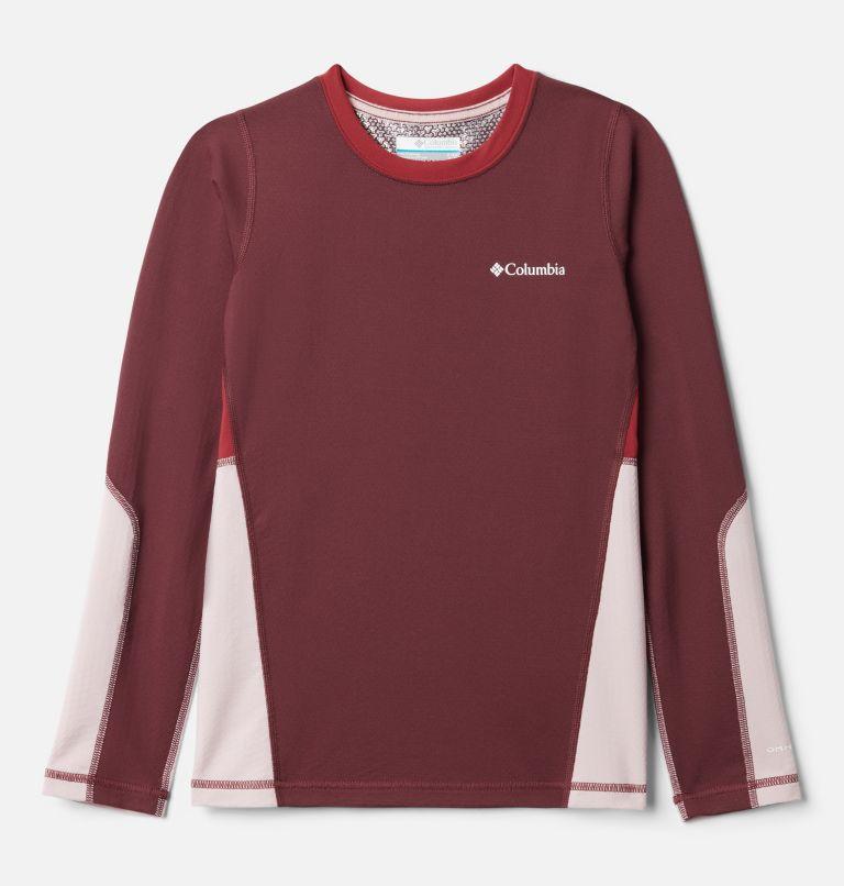 Kids' Omni-Heat™ 3D Knit Crew Baselayer Shirt Kids' Omni-Heat™ 3D Knit Crew Baselayer Shirt, front