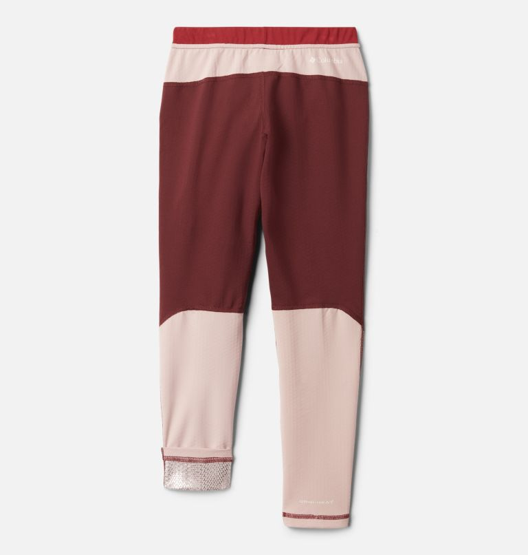 Omni-Heat 3D™ Knit Tight | 671 | S Kids' Omni-Heat 3D™ Knit Tight, Malbec, Mineral Pink, Marsala Red, back
