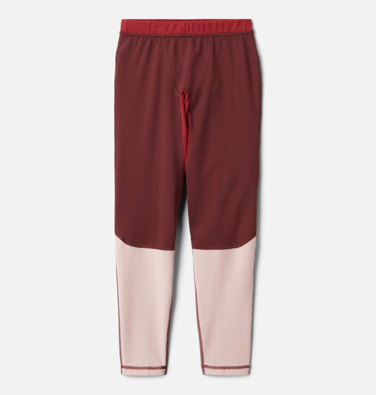 Omni-Heat 3D™ Knit Tight | 671 | S Kids' Omni-Heat 3D™ Knit Tight, Malbec, Mineral Pink, Marsala Red, front