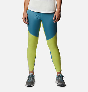 Women's Roffe Ridge™ Windblock Leggings Roffe Ridge™ Windblock Legging | 010 | L, Canyon Blue, Voltage, front