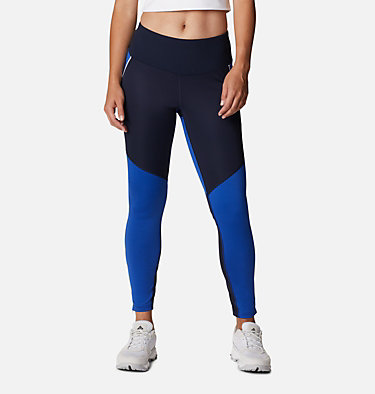 Women's Roffe Ridge™ Windblock Leggings Roffe Ridge™ Windblock Legging | 010 | L, Dark Nocturnal, Lapis Blue, front