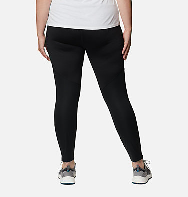 Women's Roffe Ridge™ Windblock Leggings - Plus Size Roffe Ridge™ Windblock Legging | 010 | 1X, Black, back