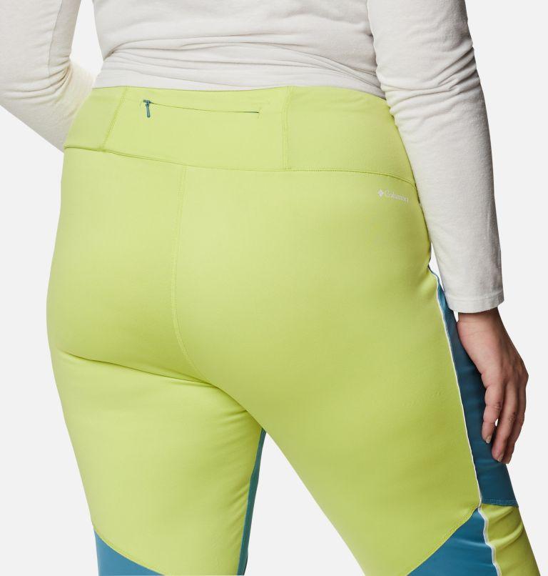 Roffe Ridge™ Windblock Legging | 430 | 2X Women's Roffe Ridge™ Windblock Leggings - Plus Size, Canyon Blue, Voltage, a3