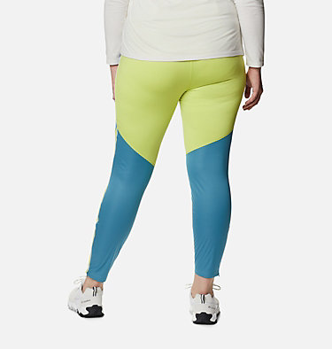 Women's Roffe Ridge™ Windblock Leggings - Plus Size Roffe Ridge™ Windblock Legging | 010 | 1X, Canyon Blue, Voltage, back