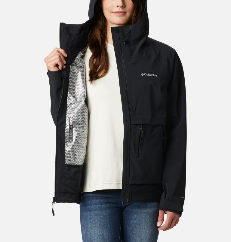 W Beacon Trail™ Shell | 010 | S Women's Beacon Trail™ Shell Jacket, Black, a3