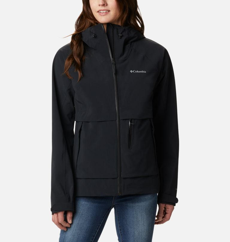 W Beacon Trail™ Shell | 010 | S Women's Beacon Trail™ Shell Jacket, Black, front