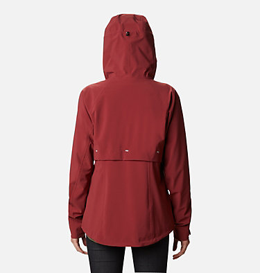 Women's Beacon Trail™ Shell Jacket W Beacon Trail™ Shell | 619 | L, Marsala Red, back