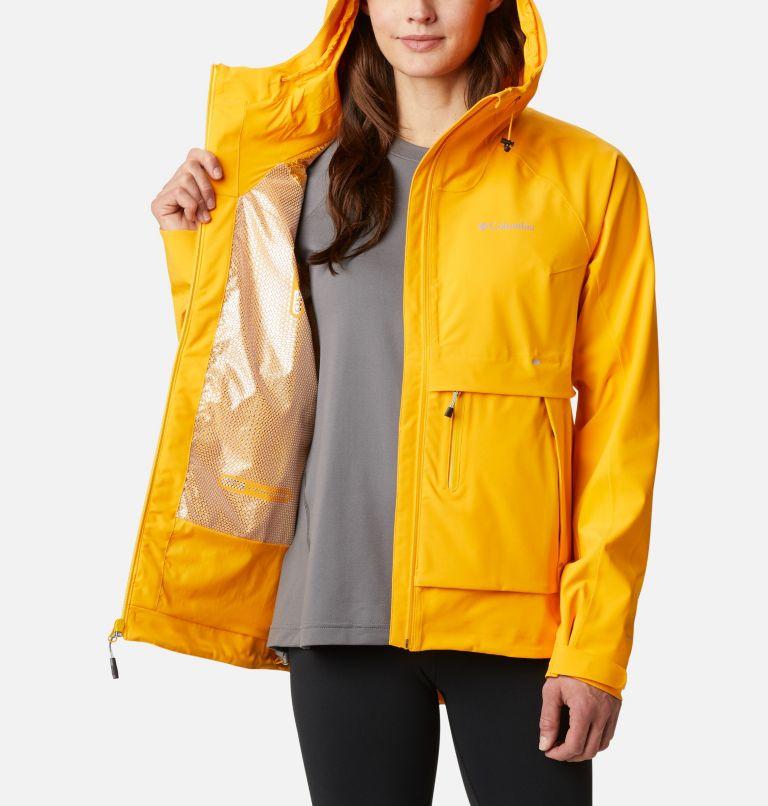 W Beacon Trail™ Shell | 772 | S Women's Beacon Trail™ Shell Jacket, Bright Marigold, a3