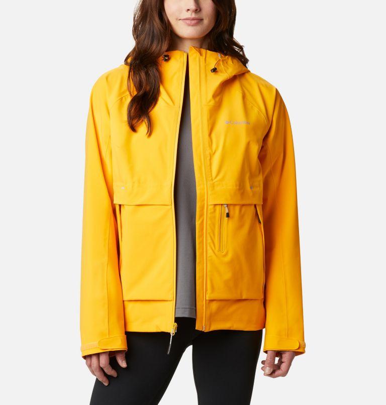 W Beacon Trail™ Shell | 772 | S Women's Beacon Trail™ Shell Jacket, Bright Marigold, front