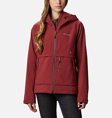 Beacon Trail™ Außenjacke für Frauen W Beacon Trail™ Shell | 010 | XL, Marsala Red, front