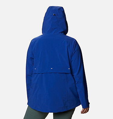 Women's Beacon Trail™ Shell Jacket - Plus Size W Beacon Trail™ Shell | 619 | 1X, Lapis Blue, back