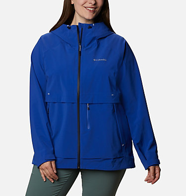 Women's Beacon Trail™ Shell Jacket - Plus Size W Beacon Trail™ Shell | 619 | 1X, Lapis Blue, front