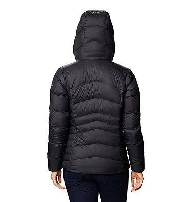 Women's Autumn Park™ Down Hooded Jacket Autumn Park™ Down Hooded Jacket | 010 | M, Black, back