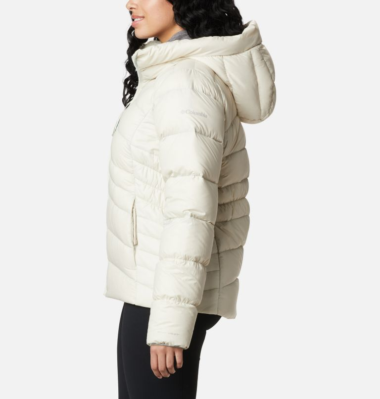 Autumn Park™ Down Hooded Jacket | 191 | L Manteau à capuchon en duvet Autumn Park™ pour femme, Chalk, a1