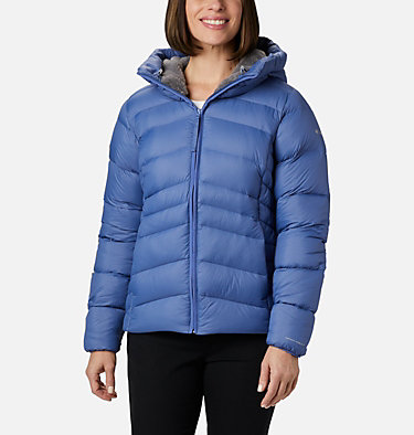 Women's Autumn Park™ Down Hooded Jacket Autumn Park™ Down Hooded Jacket | 010 | M, Velvet Cove, front