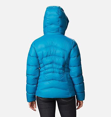 Manteau à capuchon en duvet Autumn Park™ pour femme Autumn Park™ Down Hooded Jacket | 010 | M, Fjord Blue, back