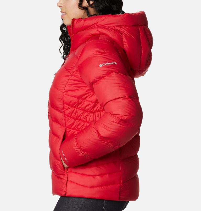 Autumn Park™ Down Hooded Jacket | 658 | M Manteau à capuchon en duvet Autumn Park™ pour femme, Red Lily, a1