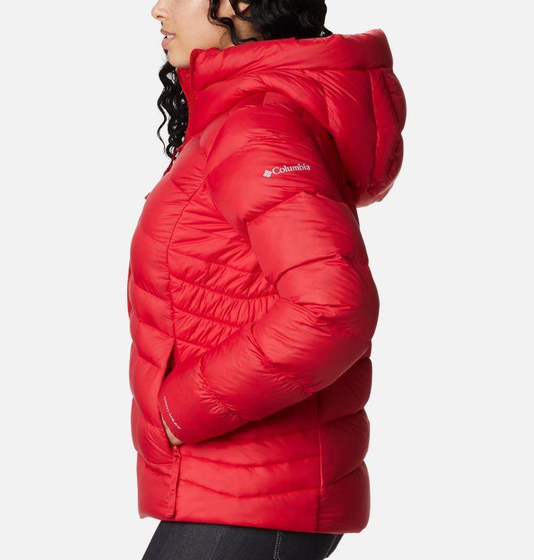 Autumn Park™ Down Hooded Jacket | 658 | S Manteau à capuchon en duvet Autumn Park™ pour femme, Red Lily, a1