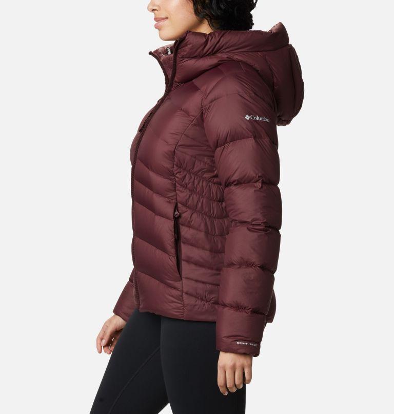 Autumn Park™ Down Hooded Jacket | 671 | M Manteau à capuchon en duvet Autumn Park™ pour femme, Malbec, a1