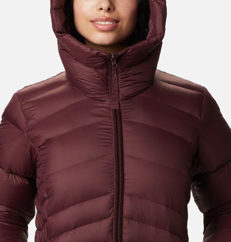 Autumn Park™ Down Hooded Jacket | 671 | M Manteau à capuchon en duvet Autumn Park™ pour femme, Malbec, a2