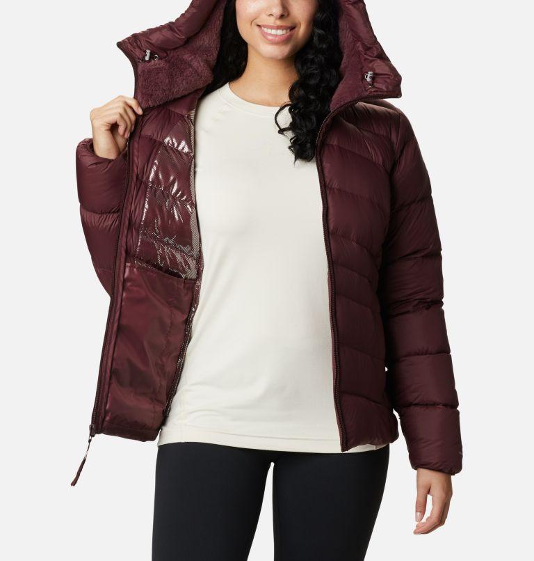 Autumn Park™ Down Hooded Jacket | 671 | M Manteau à capuchon en duvet Autumn Park™ pour femme, Malbec, a3
