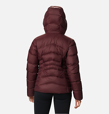 Women's Autumn Park™ Down Hooded Jacket Autumn Park™ Down Hooded Jacket | 010 | M, Malbec, back