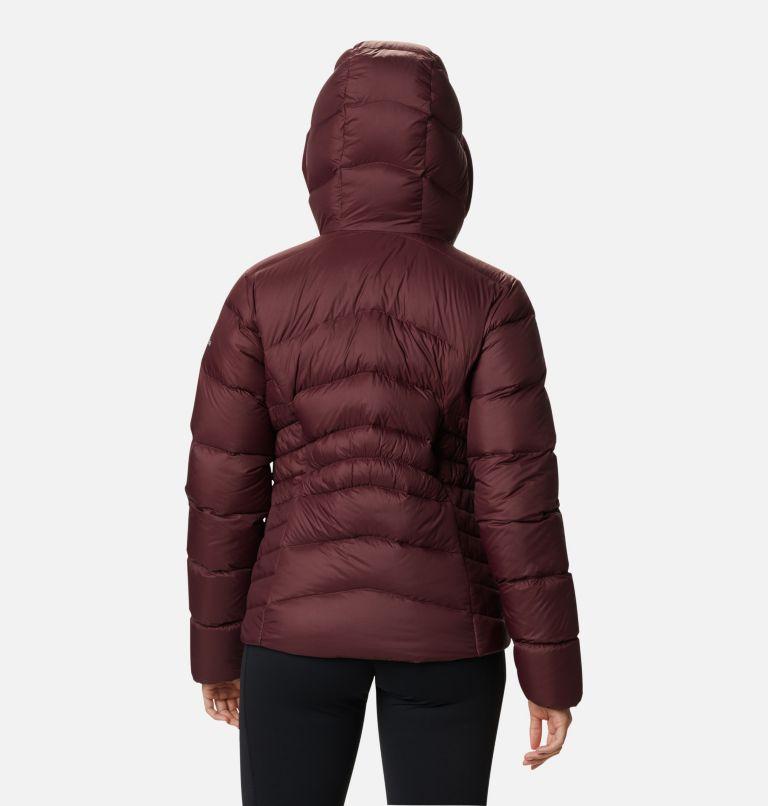 Autumn Park™ Down Hooded Jacket | 671 | M Manteau à capuchon en duvet Autumn Park™ pour femme, Malbec, back