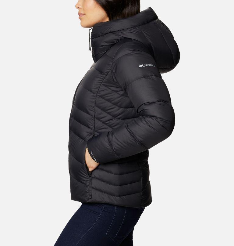 Autumn Park™ Down Hooded Jacket | 010 | L Women's Autumn Park™ Down Hooded Jacket, Black, a1