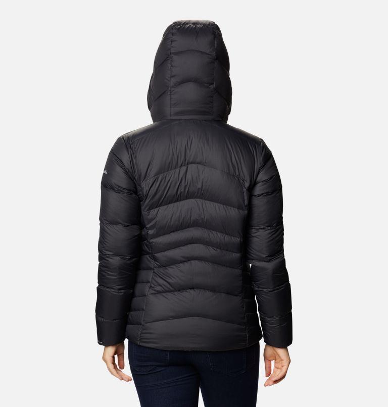 Autumn Park™ Down Hooded Jacket | 010 | L Women's Autumn Park™ Down Hooded Jacket, Black, back