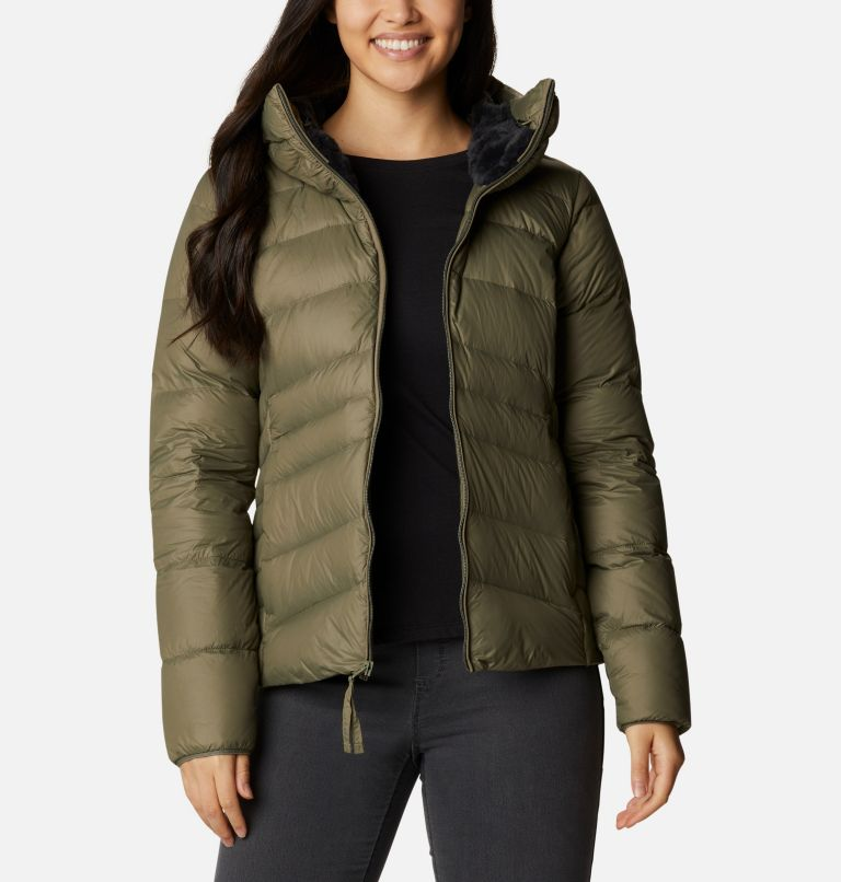 Autumn Park™ Down Hooded Jacket Autumn Park™ Down Hooded Jacket, front