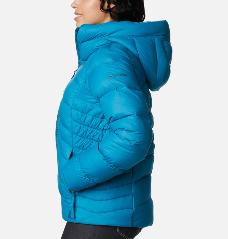 Autumn Park™ Down Hooded Jacket   462   XS Women's Autumn Park™ Down Hooded Jacket, Fjord Blue, a1