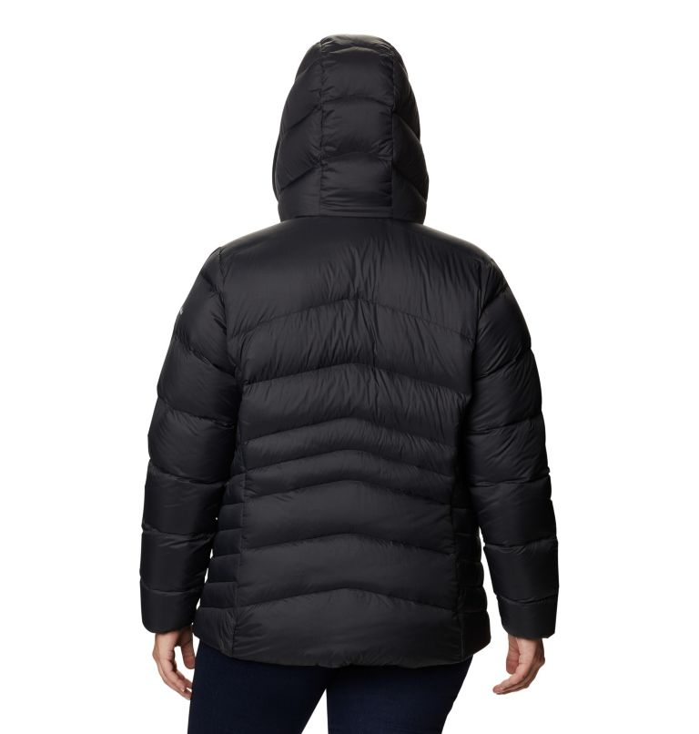 Women's Autumn Park™ Down Hooded Jacket - Plus Size Women's Autumn Park™ Down Hooded Jacket - Plus Size, back