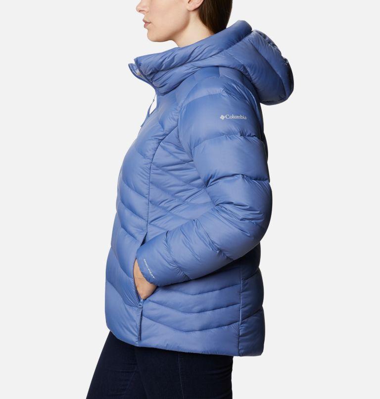 Autumn Park™ Down Hooded Jacket | 458 | 3X Women's Autumn Park™ Down Hooded Jacket - Plus Size, Velvet Cove, a1