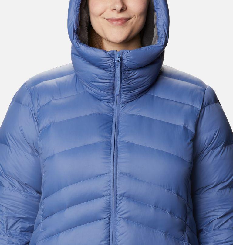 Autumn Park™ Down Hooded Jacket | 458 | 3X Women's Autumn Park™ Down Hooded Jacket - Plus Size, Velvet Cove, a2