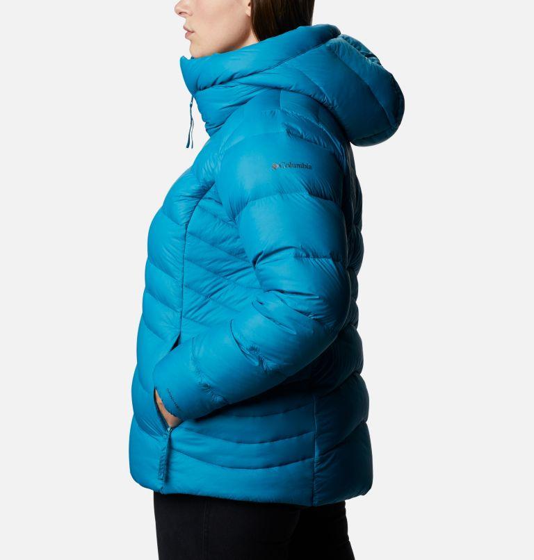 Autumn Park™ Down Hooded Jacket | 462 | 3X Manteau à capuchon en duvet Autumn Park™ pour femme - Grandes tailles, Fjord Blue, a1