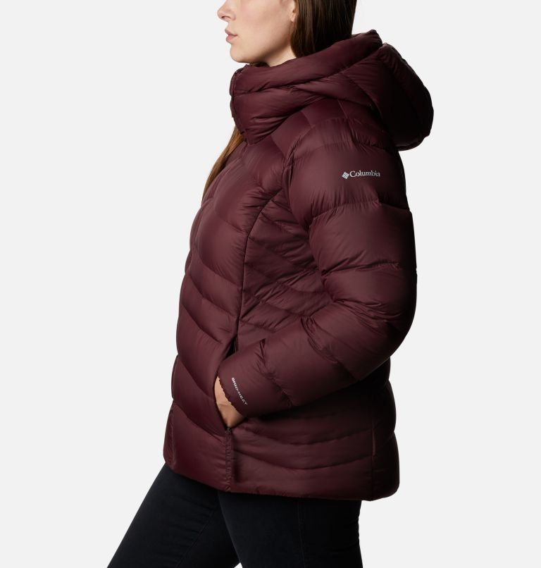 Women's Autumn Park™ Down Hooded Jacket - Plus Size Women's Autumn Park™ Down Hooded Jacket - Plus Size, a1