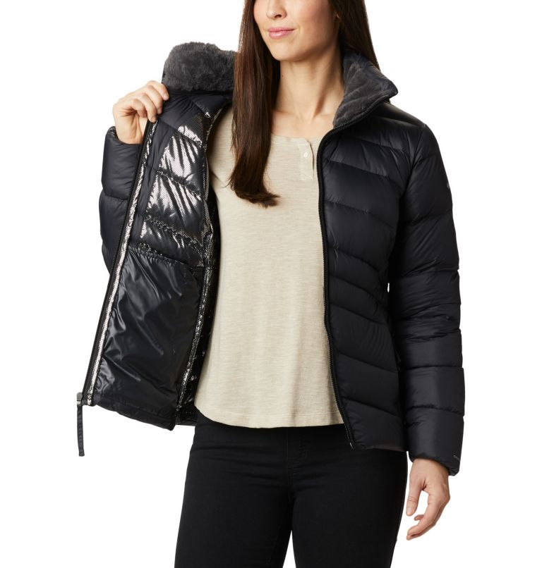 Autumn Park™ Down Jacket | 010 | XS Women's Autumn Park™ Down Jacket, Black, a3