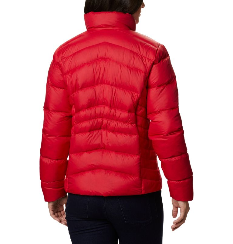 Autumn Park™ Down Jacket | 658 | S Women's Autumn Park™ Down Jacket, Red Lily, back