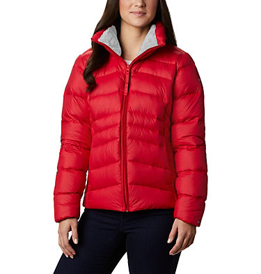 Women's Autumn Park™ Down Jacket Autumn Park™ Down Jacket | 010 | XL, Red Lily, front
