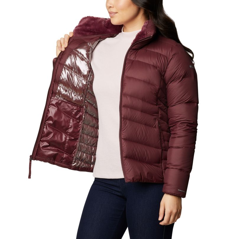 Autumn Park™ Down Jacket | 671 | M Women's Autumn Park™ Down Jacket, Malbec, a3