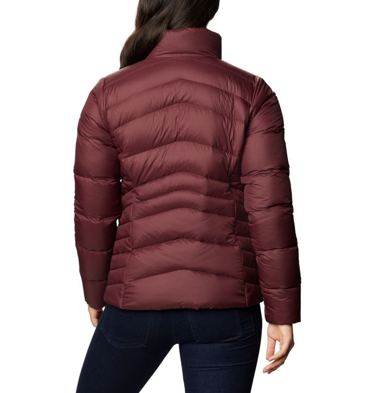Autumn Park™ Down Jacket | 671 | M Women's Autumn Park™ Down Jacket, Malbec, back
