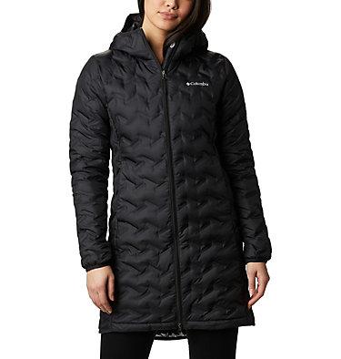 Women's Delta Ridge™ Long Down Jacket Delta Ridge™ Long Down Jacket | 671 | L, Black, front