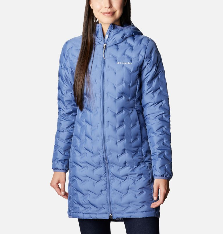 Women's Delta Ridge™ Long Down Jacket Women's Delta Ridge™ Long Down Jacket, front