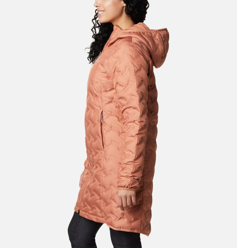 Delta Ridge™ Long Down Jacket | 604 | XS Women's Delta Ridge™ Long Down Jacket, Nova Pink, a1