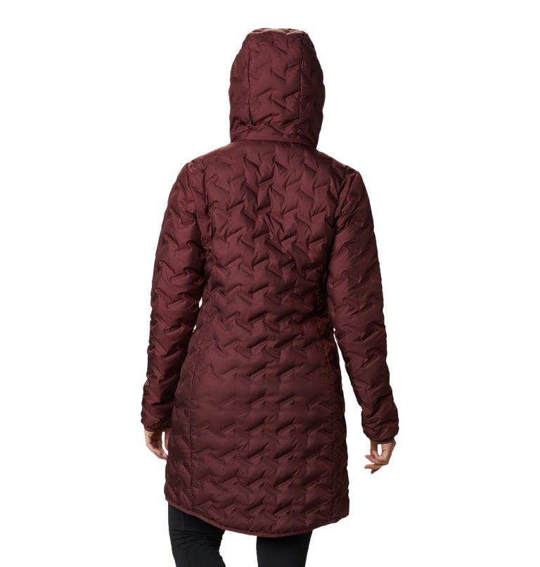 Women's Delta Ridge™ Long Down Jacket Women's Delta Ridge™ Long Down Jacket, back