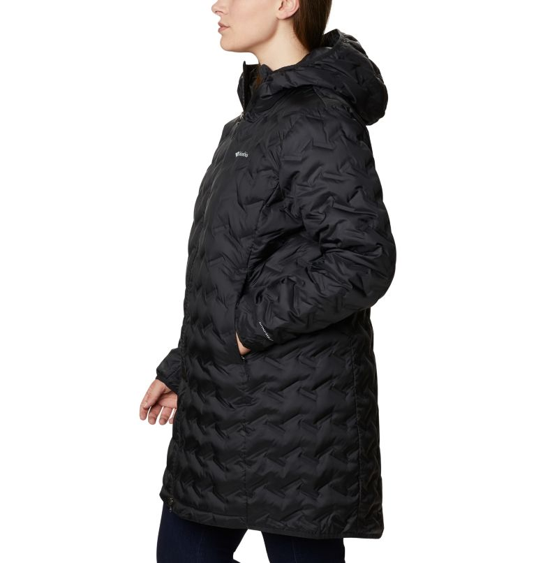 Women's Delta Ridge™ Long Down Jacket - Plus Size Women's Delta Ridge™ Long Down Jacket - Plus Size, a1