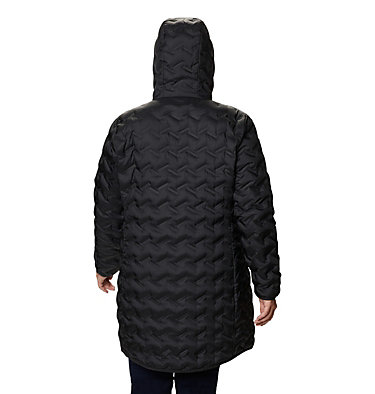 Women's Delta Ridge™ Long Down Jacket - Plus Size Delta Ridge™ Long Down Jacket | 010 | 2X, Black, back