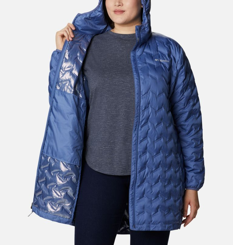 Women's Delta Ridge™ Long Down Jacket - Plus Size Women's Delta Ridge™ Long Down Jacket - Plus Size, a3