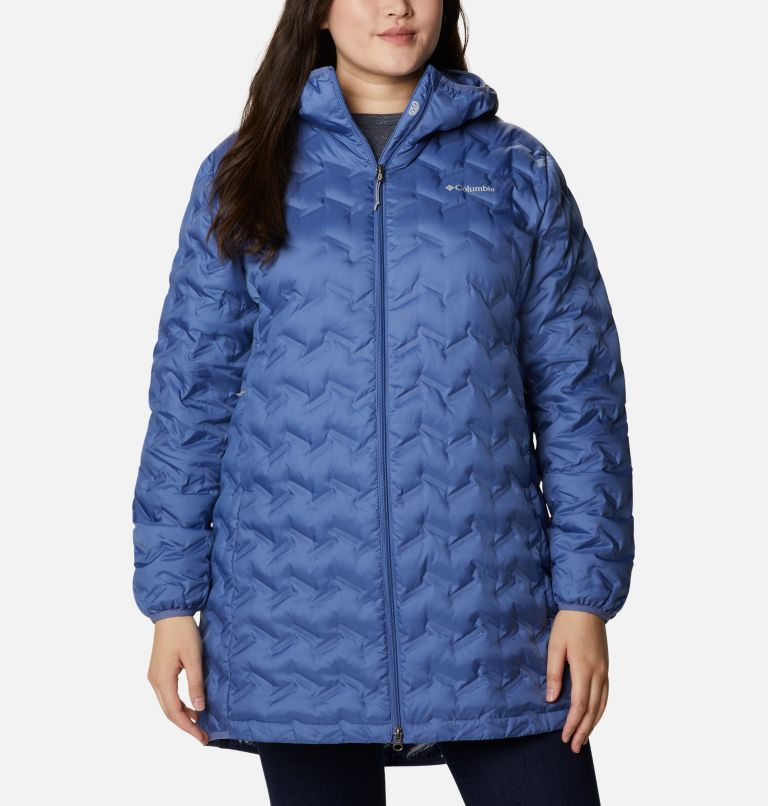 Women's Delta Ridge™ Long Down Jacket - Plus Size Women's Delta Ridge™ Long Down Jacket - Plus Size, a4